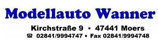 Modellauto Wanner Aktuelle Angebote